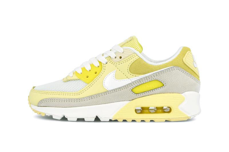 Nike Air Max 90 Pastel Yellow/Grey Sneaker Drop Air May Day 2020 Release