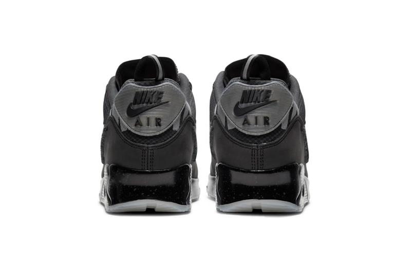 nike undefeated collaboration air max 90 sneakers black shoes footwear sneakerhead