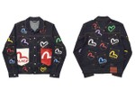 Picture of Every Piece From the Palace x EVISU Collaboration