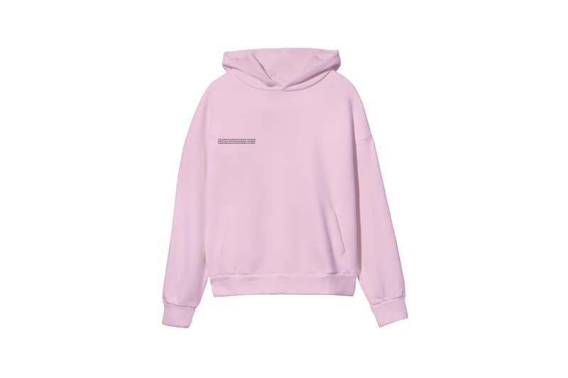 pangaia botanical collection hoodies shirts sweatpants sustainability loungewear