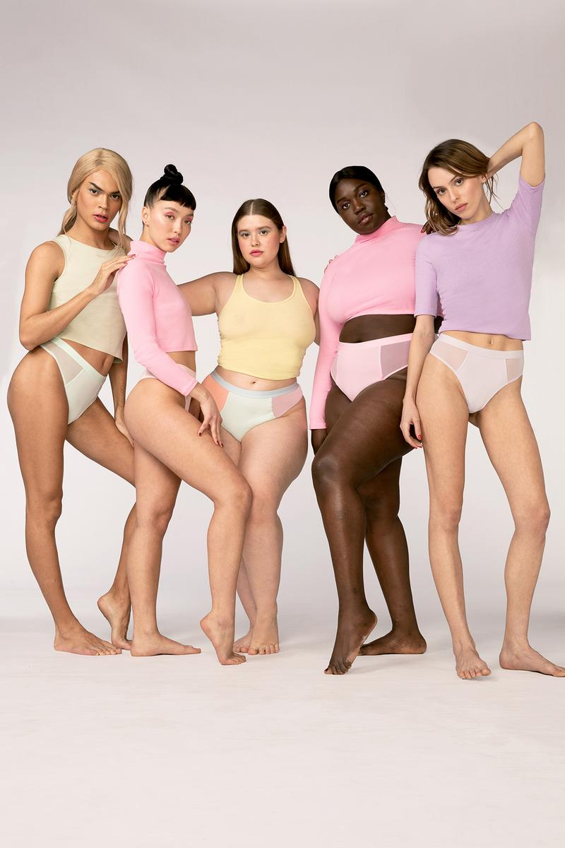 Parade Underwear Cotton Candy Collection Campaign