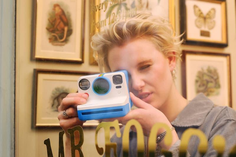 polaroid now instant analog camera film photography red orange yellow green blue white