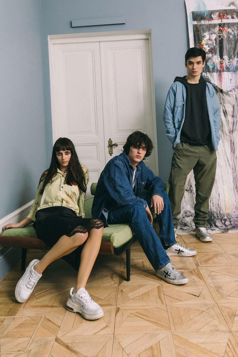 premiata italian luxury sneaker brand debuts spring/summer 2020 sizey collection sharky drake