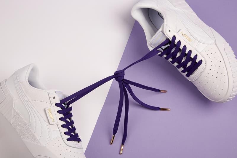 puma international womens day women win charity donation purple ultraviolet shoe laces