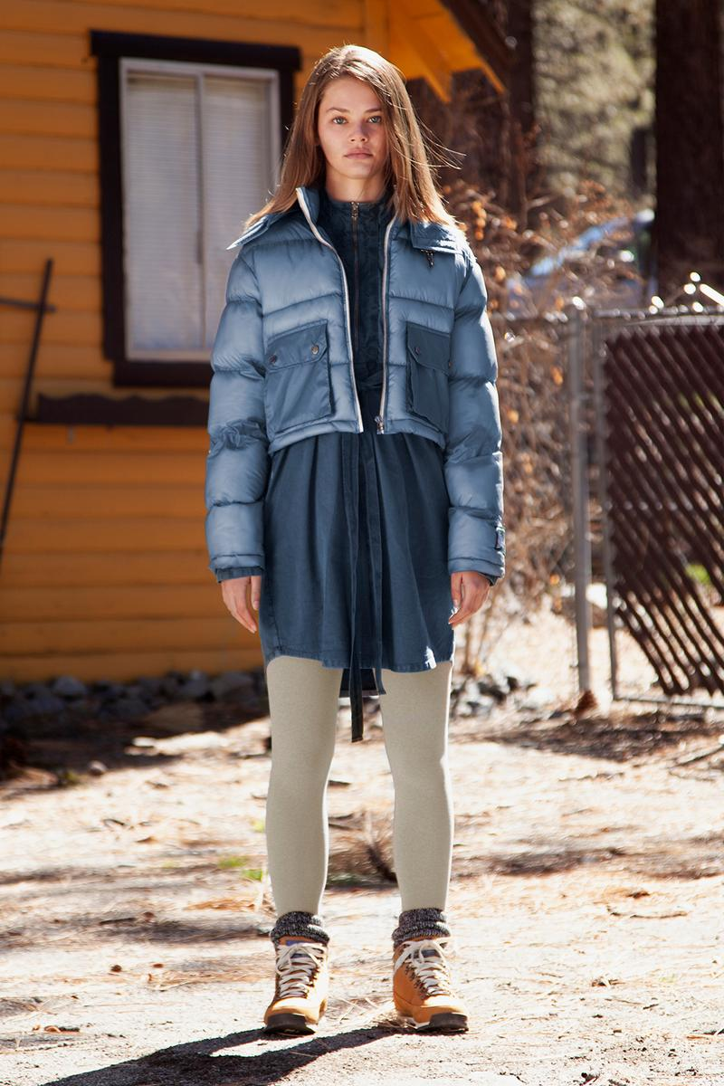reese cooper fall winter womens wind chill collection outerwear puffer denim jackets skirts