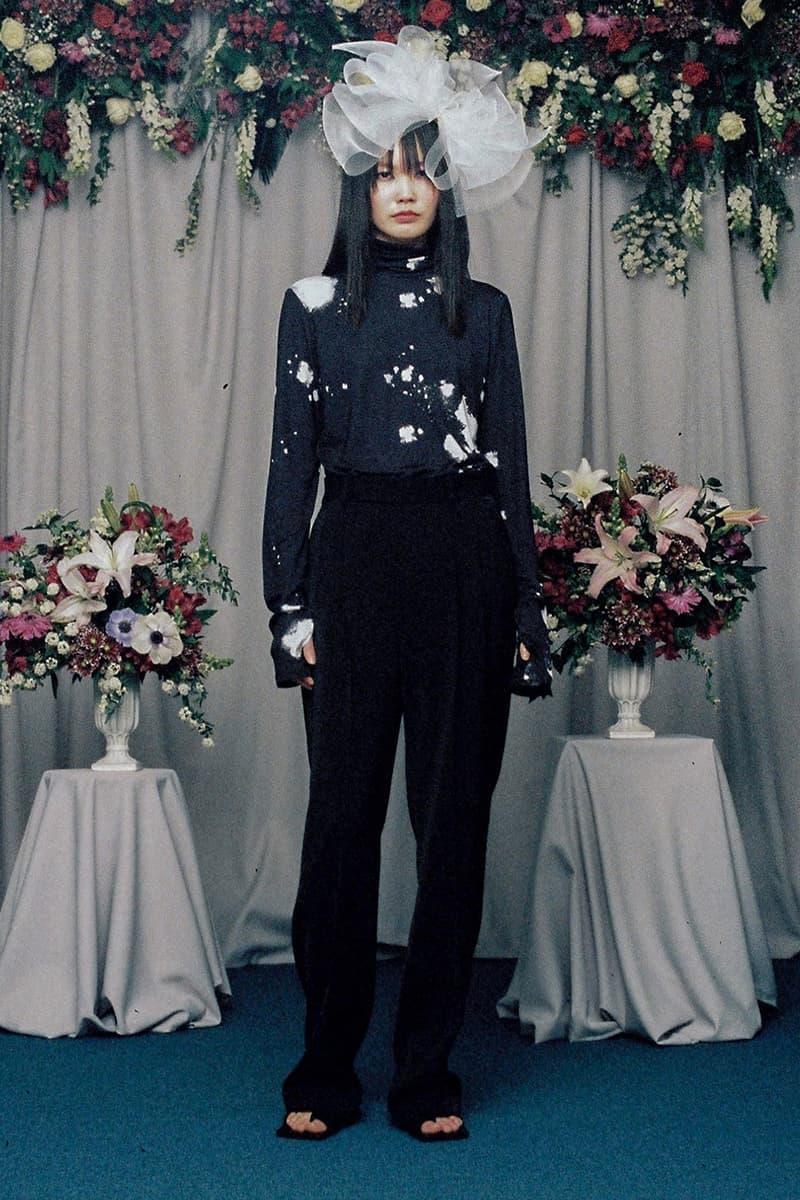 SU GI Fall/Winter 2020 Lookbook Emerging Korean Designer Wedding Dress Marriage Streetwear Suits Dresses