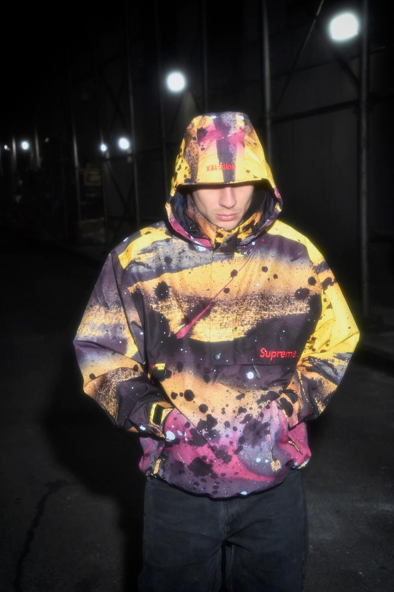 supreme rammellzee artist spring collaboration goretex outerwear t shirt fashion clothes