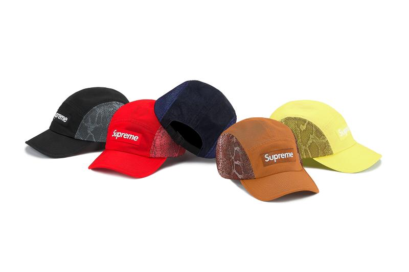 Supreme Spring Summer Week 3 Drop Box Logo Caps