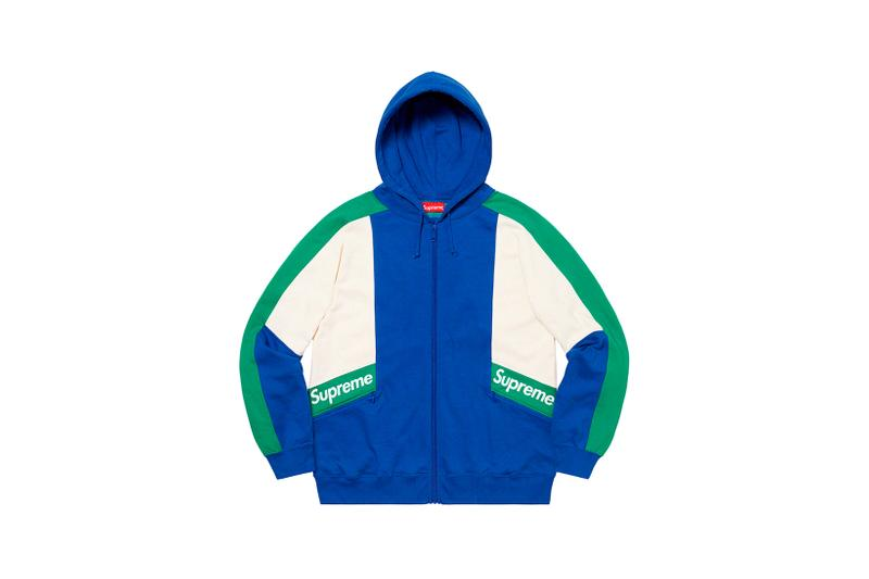Supreme Spring Summer Week 3 Drop Windbreaker Blue White