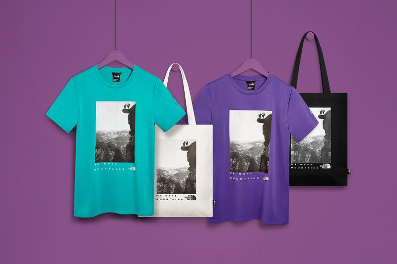 the north face international womens day iwd collection jess glynne female rights t-shirts tote bags