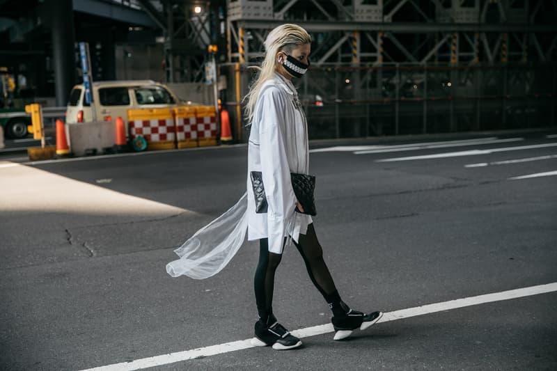 Tokyo Fashion Week Spring/Summer 2018 Street Style