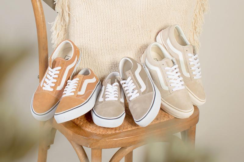 vans old skool sneakers beige brown cream white milk tea shoes footwear sneakerhead