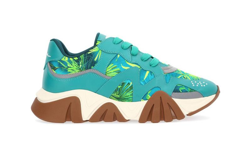 Versace Jungle-Print Squalo Sneakers