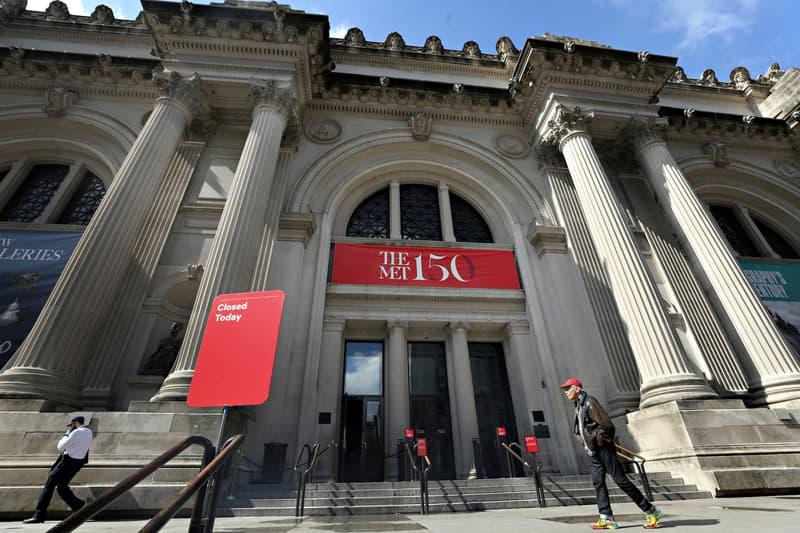 Virtual Museum Tours Coronavirus Outbreak Metropolitan Museum of Art Fondazione Prada Collections Exhibitions