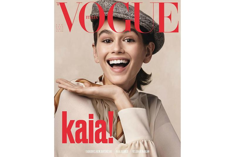 Kaia Gerber Vogue Italia July 2018 Cover Issue