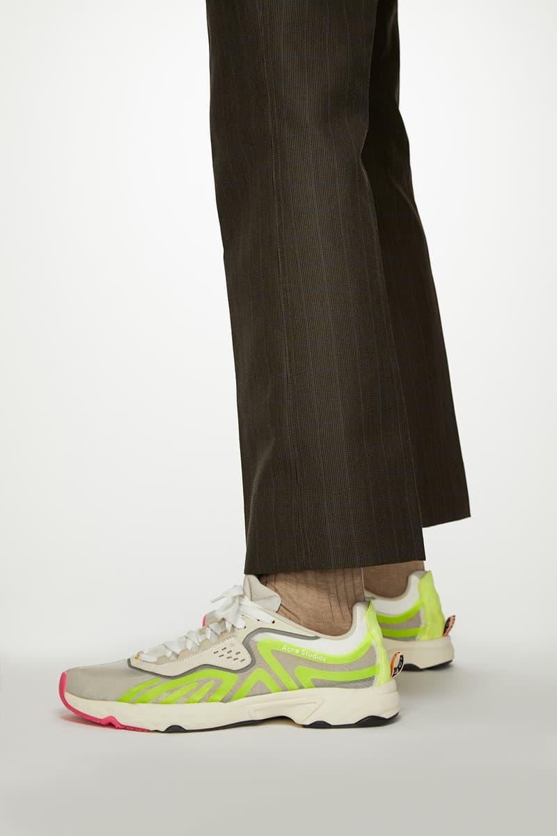 Acne Studios N3W New Sneakers Design Silhouette