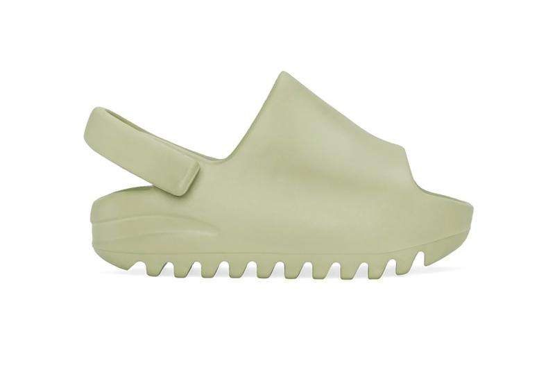 adidas kanye west yeezy slide slippers off white olive green brown restock slipper footwear