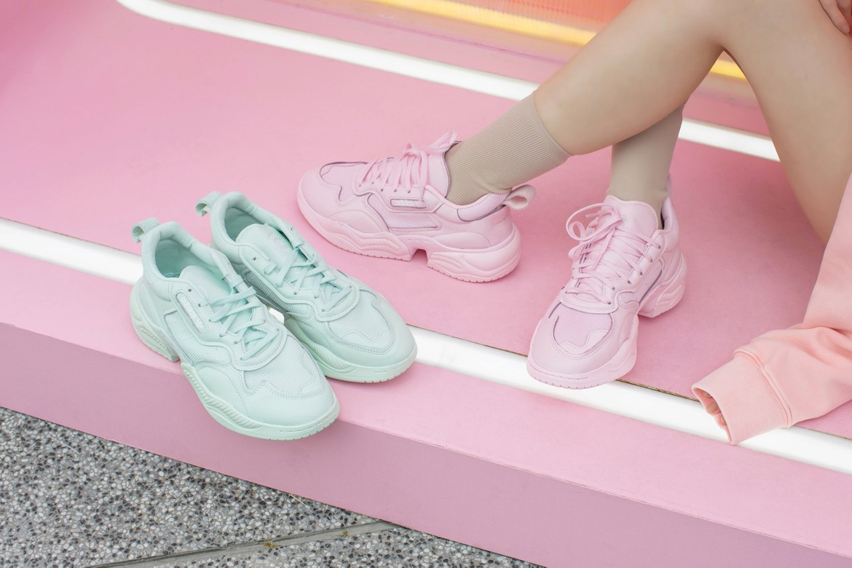 borde arcilla Plano  adidas Originals Supercourt RX Pastel Blue Pink | HYPEBAE