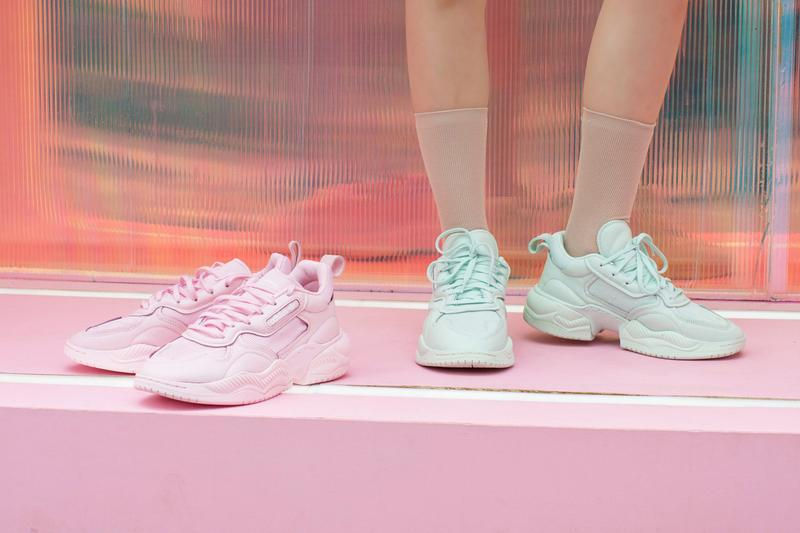 adidas Originals Supercourt RX Pastel Blue Pink Green Turquoise Sneaker Shoe Release Spring Summer