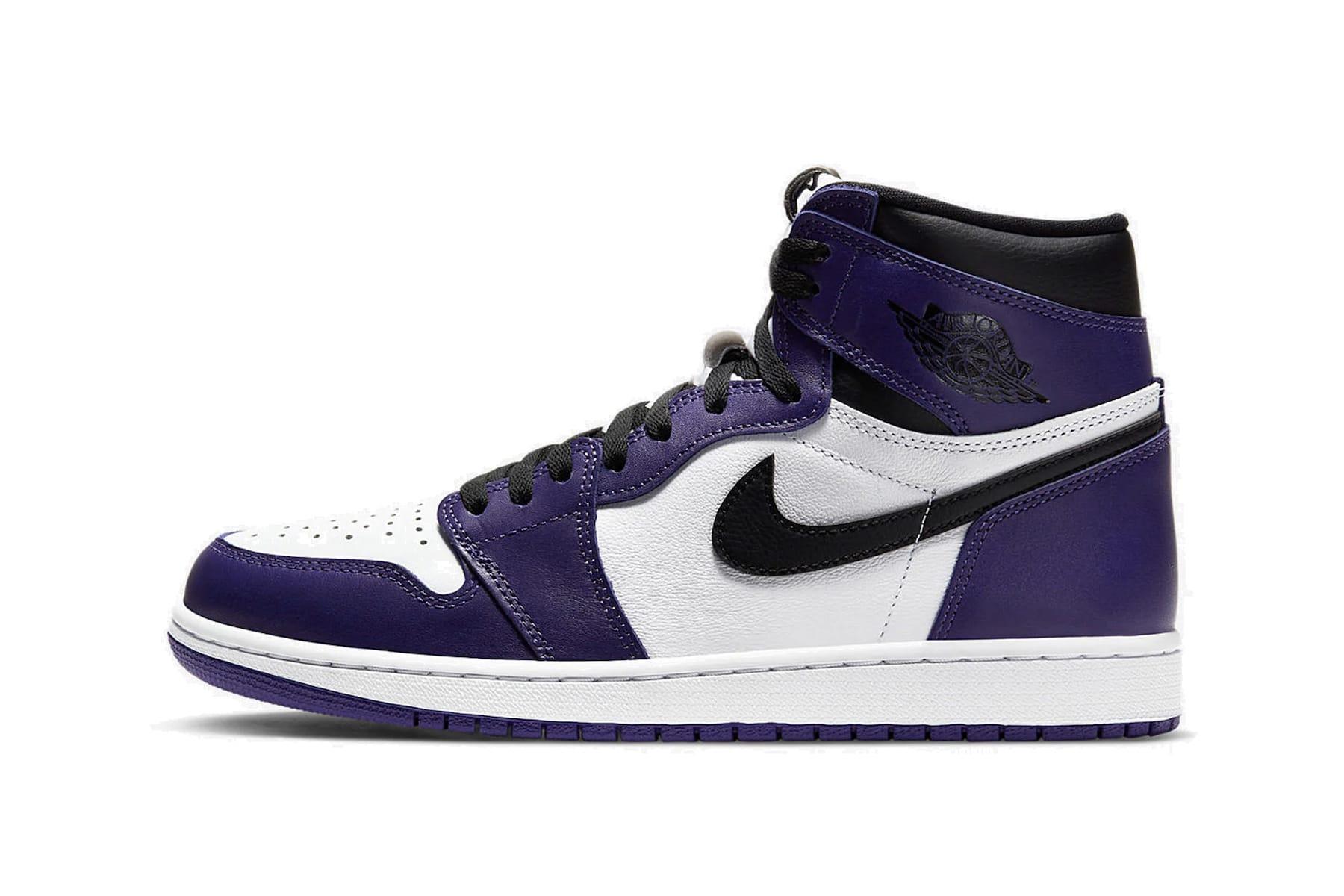 Nike Air Jordan 1 Retro Hi Purple/White
