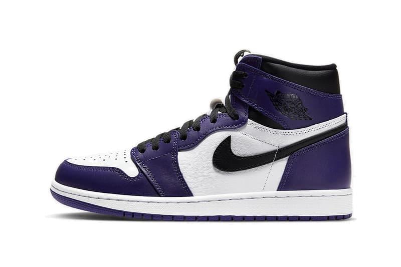 Nike Air Jordan 1 Retro Hi Purple/White Release Date Raffle Online Sneaker Shoe