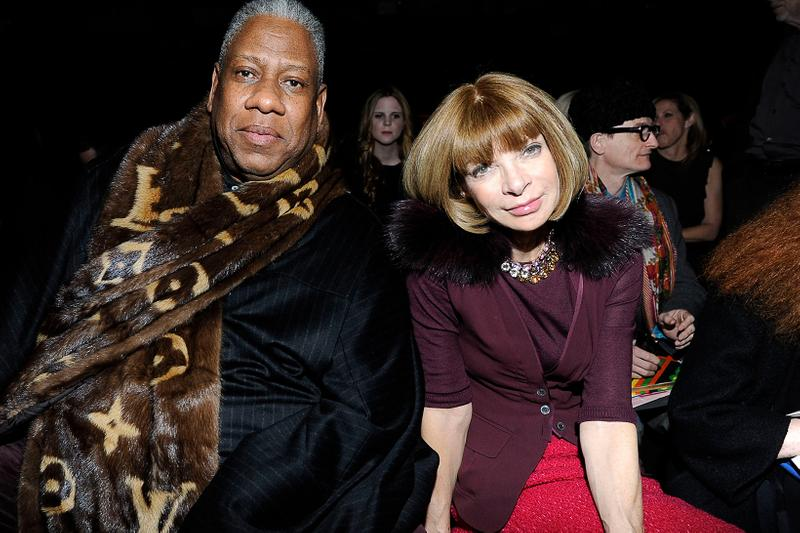 André Leon Talley Anna Wintour The Chiffon Trenches Memoir Friendship