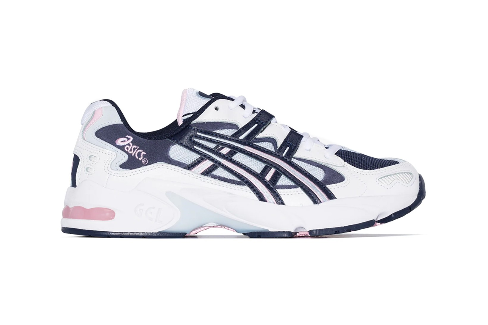 ASICS Gel-Kayano 5 in Blue and Pink for