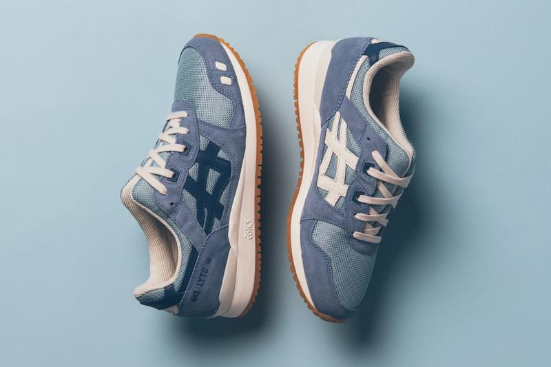 asics gel lyte iii sneakers blue white shoes footwear sneakerhead