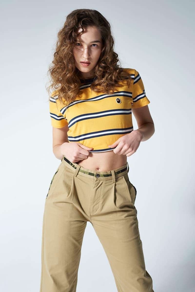 BAPE Spring/Summer 2020 Women's Lookbook T-shirts Hoodies Sweatshirts Camouflage