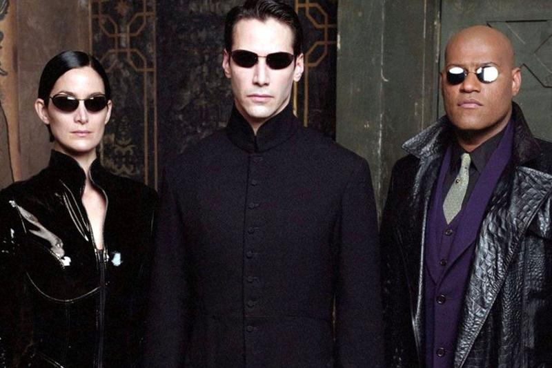 The Matrix Keanu Reeves Neo Laurence Fishburne Morpheus Carrie-Ann Moss Trinity