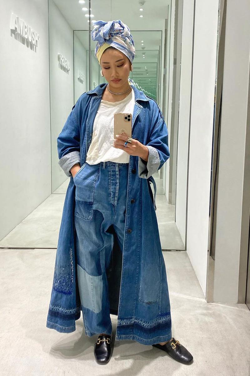 Yoon Ahn Celebrity Style Denim
