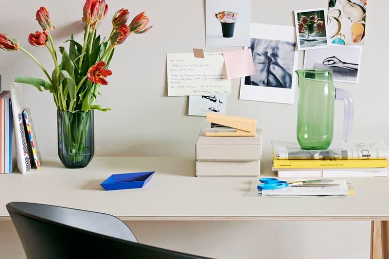 Hay Danish Denmark Design Home Vase Flowers Jug Glass Stationery Desk Stapler Tray