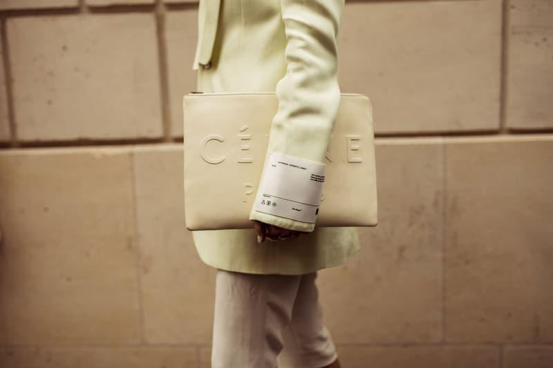 Street Style Celine Off-White