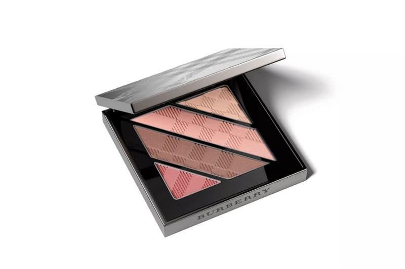 Burberry Beauty Eyeshadow Palettes Four Shades Pink Beige Nude Grey Black Smokey Eyes