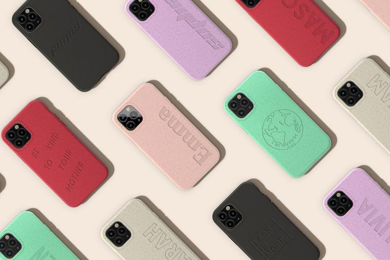 Casetify Conscious Sustainable Phone Cases Earth Day Release Compostable Bamboo Material