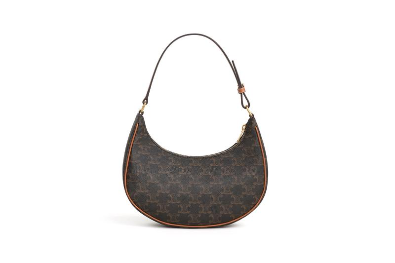 celine triomphe canvas ava designer bag vintage relaunch asia brown accessories handbag