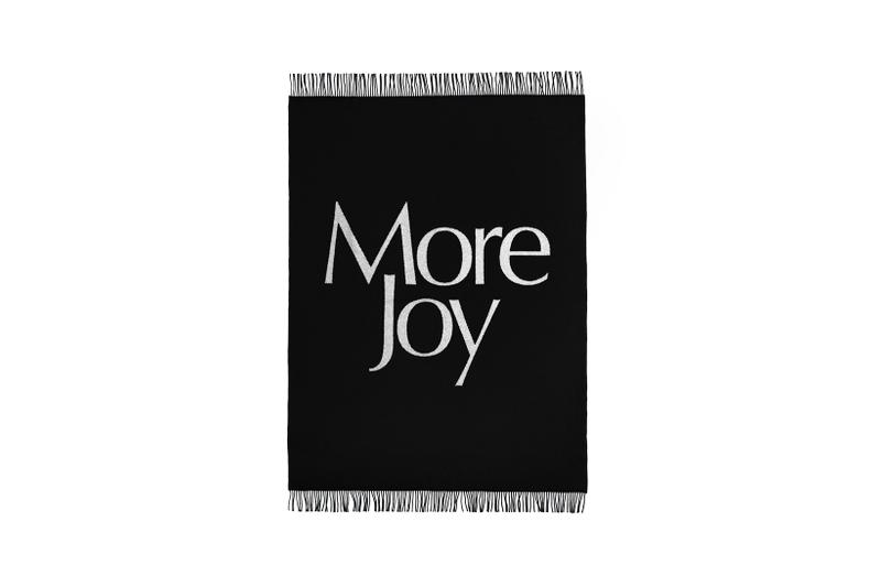 Christopher Kane More Joy Indoors Collection Blanket Hot Water Bottle