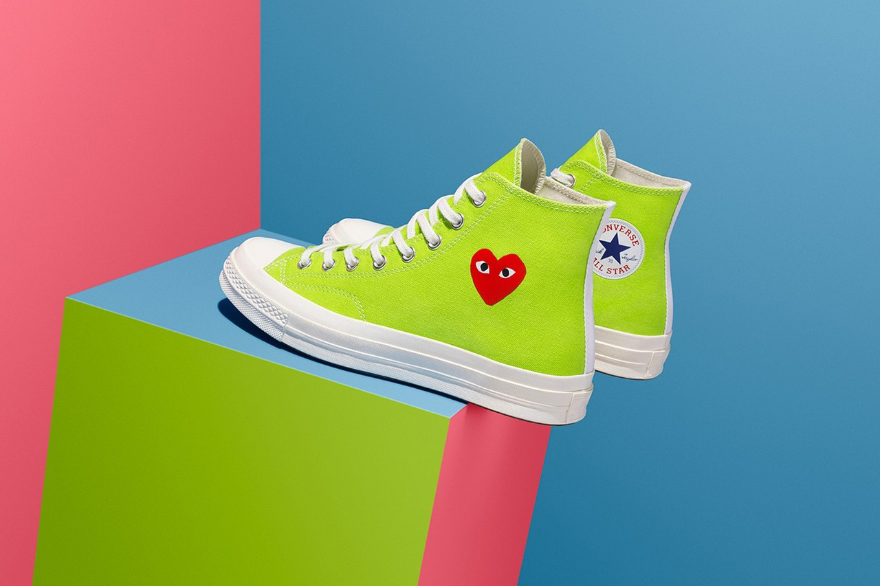 CDG PLAY Converse Chuck 70 Release Date