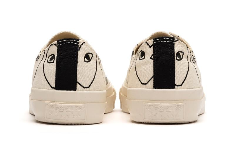 COMME des GARCONS PLAY x Converse Chuck 70 Ox White