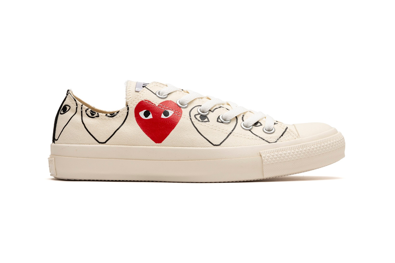 New COMME des GARCONS x Converse to