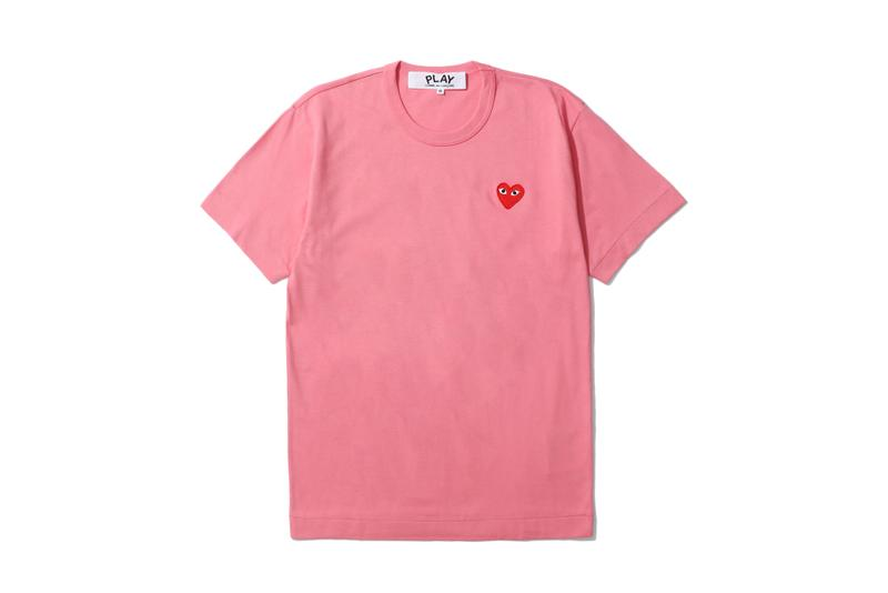 COMME des GARÇONS PLAY Spring/Summer Collection Pink Green Blue Pastel Graphics Print