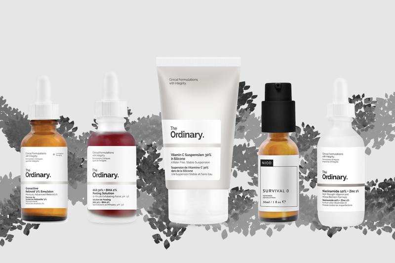 Best The Ordinary Products Dull Skin Ageing Skincare Facial Treatment Vitamin C Serum Hyaluronic Acid Moisturizer Self-Isolation Quarantine Routine