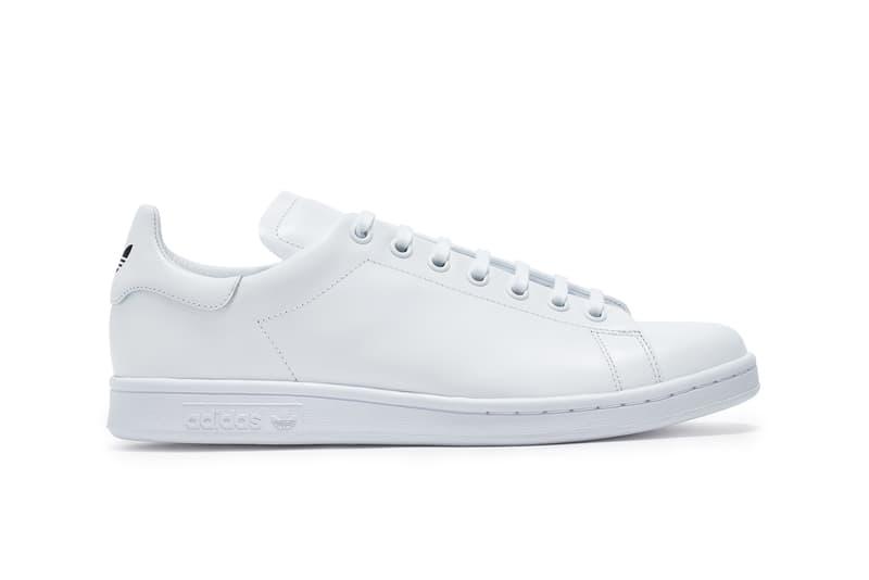 Dover Street Market x adidas Originals Stan Smith Sneaker Release Collaboration Black White Logo