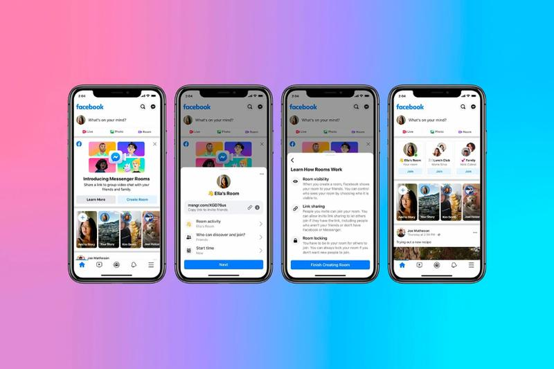 facebook messenger rooms video chat platform apps tech computer phone