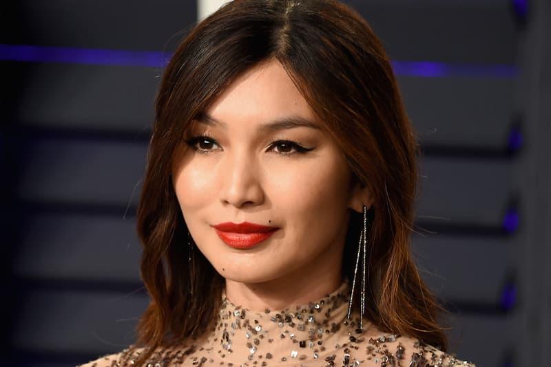 Gemma Chan Oscars 2019 Vanity Fair Party Red Carpet