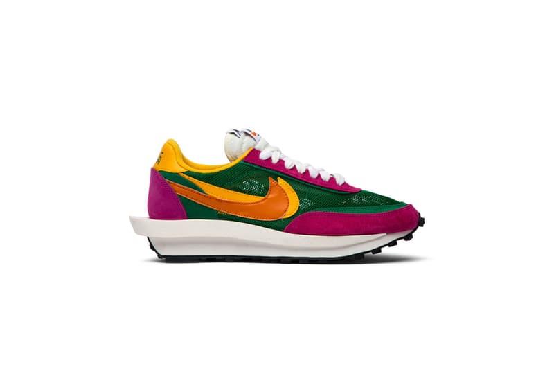 "Sacai x LDWaffle ""Pine Green"" sneakers"