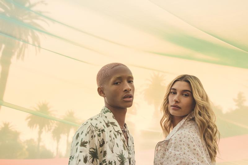 Hailey Bieber Jaden Smith Levi's Campaign Collection Festival Season Youth
