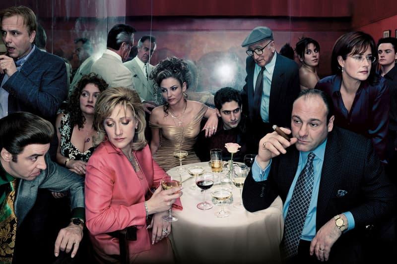 The Sopranos Cast James Gandolfini Edie Falco