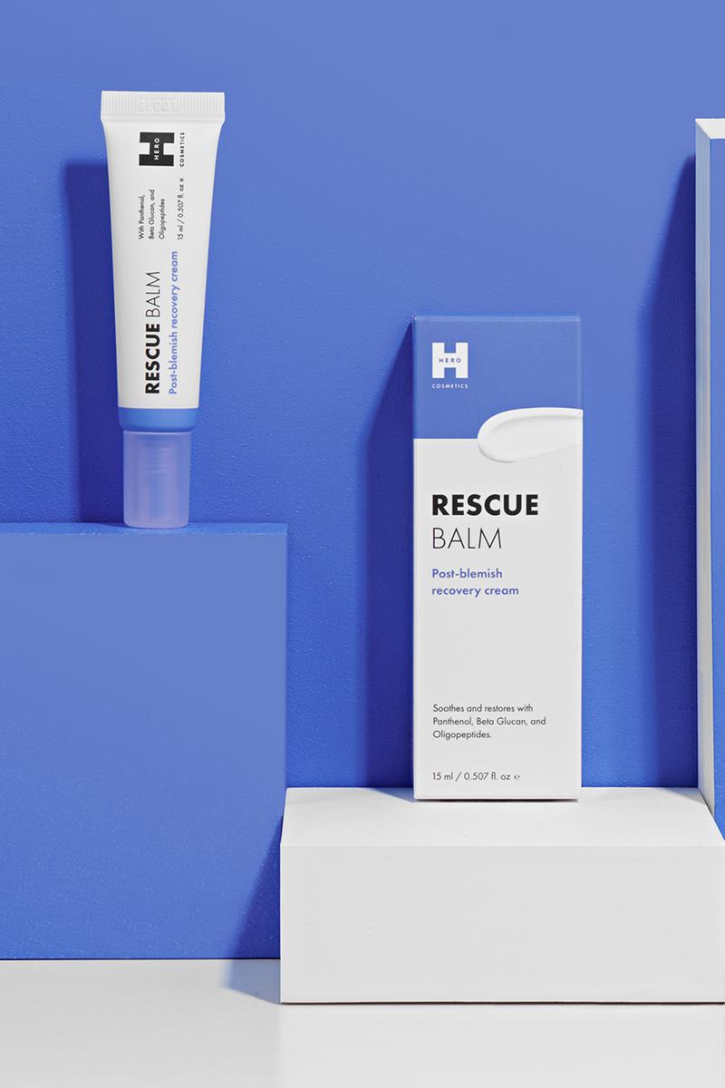 hero cosmetics rescue balm acne blemish ointment skincare beauty