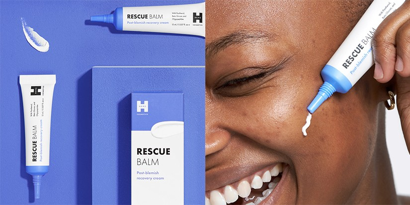 Hero Cosmetics Drops Its First Post-Blemish Cream Dubbed, Rescue Balm